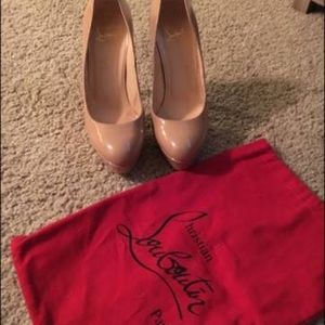Christian Louboutin Shoes - Christian Louboutin Nude Pumps